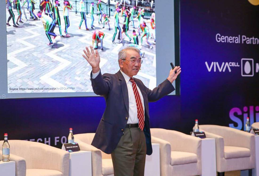 Takeo Kanade: Armenia looks at high tech as the future, which is impressive