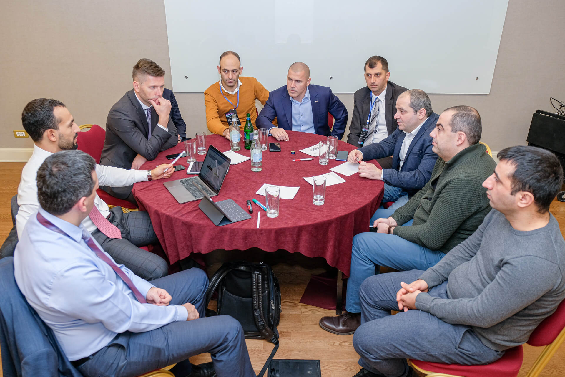 B2B Meeting In Framework Of The Silicon Mountains Forum